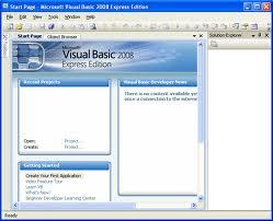 ميكروسوفت فيجوال بيسيك 2008