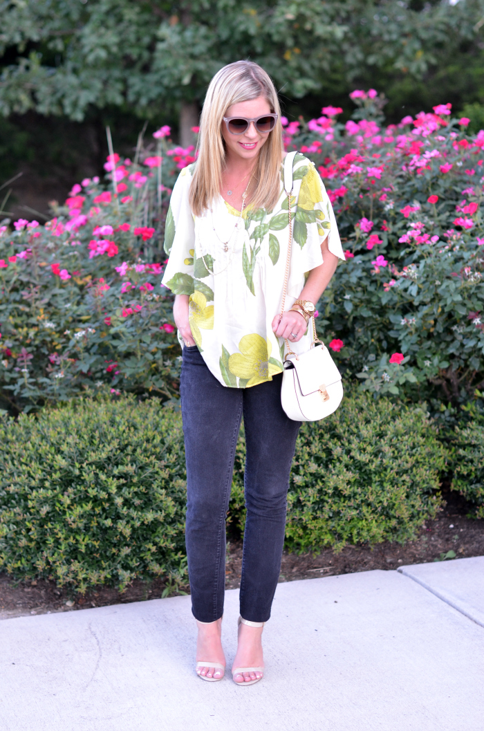 Anthropologie Fluttered Blouse