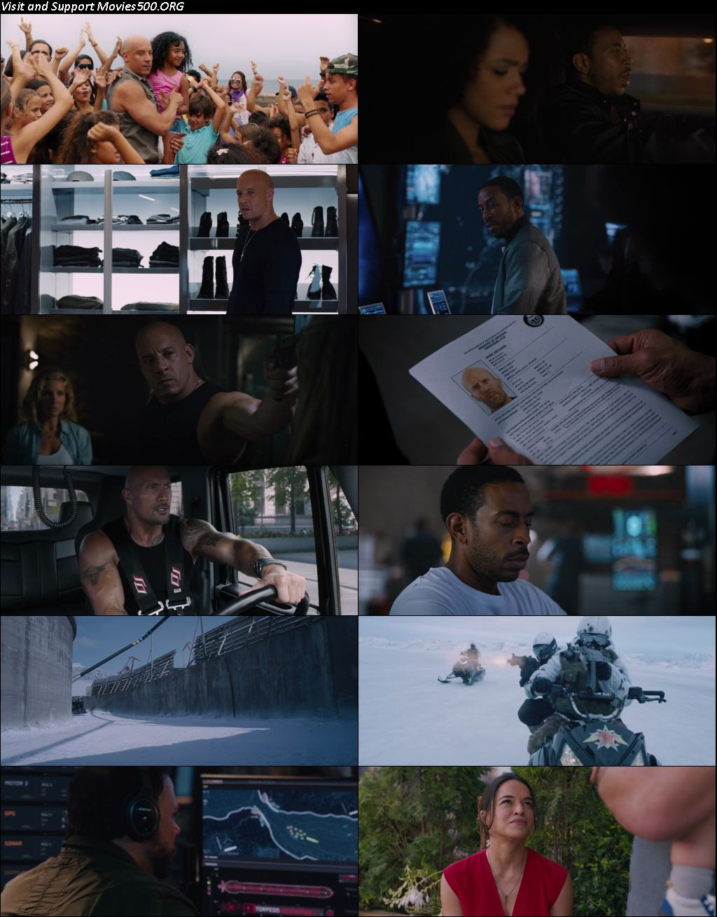 The Fate of the Furious 2017 Full Movie Hindi Downlaod HEVC Mobile 190MB at xcharge.net