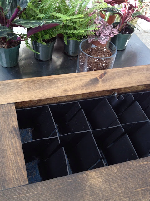 materials needed to make the groVert living wall planter