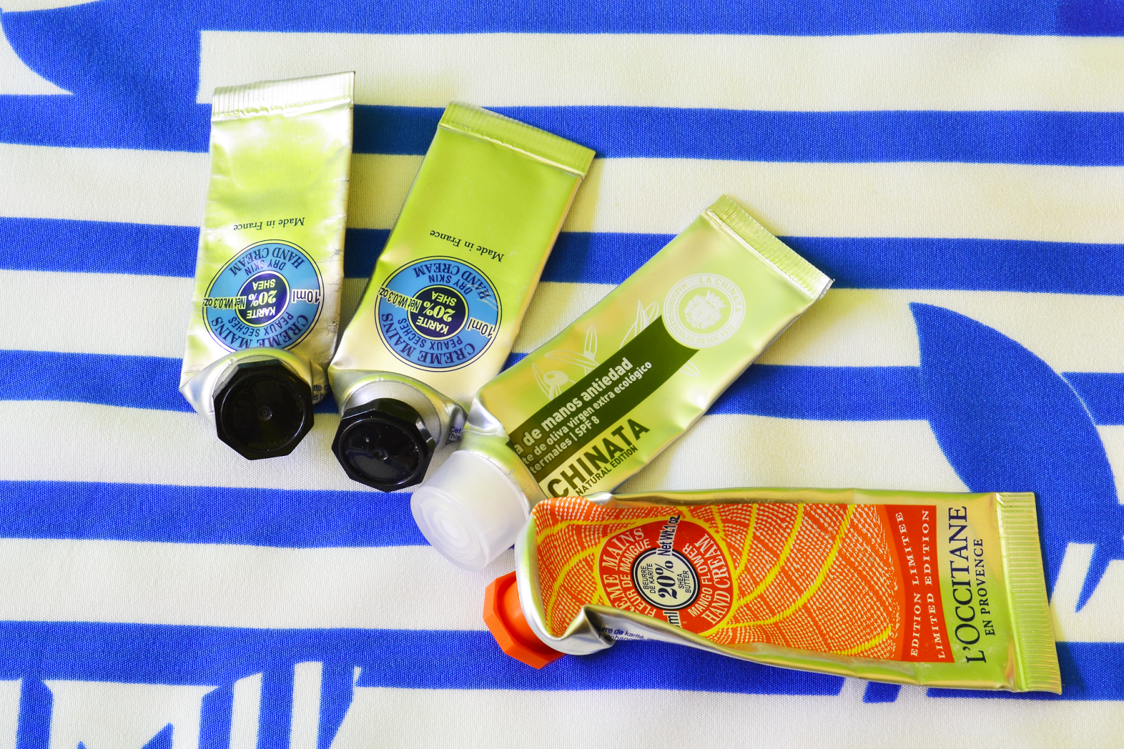 Empties, 14. Hand creams