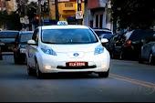 Taxis elétricos em São Paulo