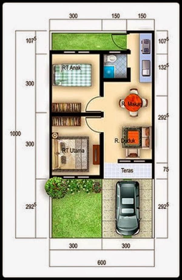 desain rumah minimalis type 36 1