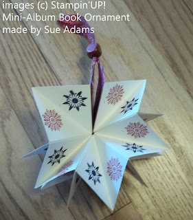 Mini-Album Book Ornament