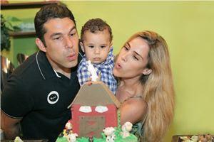 Filho de Wanessa Camargo comemora 1 ano; veja as fotos