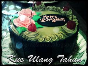 merupakan sesuatu yang tidak terpisah dari suatu perayaan atau peringatan tanggal kelahir Cara Membuat Kue Ulang Tahun Sederhana dan cantik