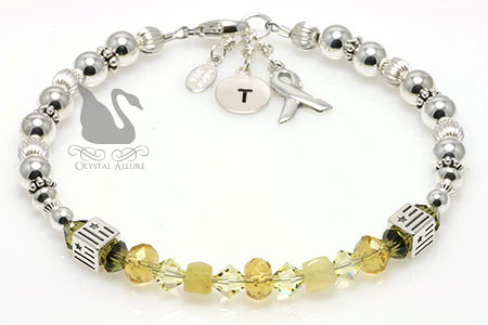 Melissa's Custom Military Deployment Bracelet (B202)
