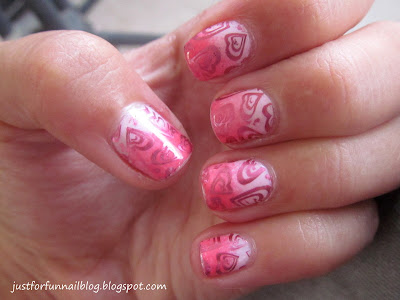 Barry M - Pink Flamingo KIKO 619 Cheeky plate CH15