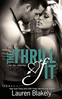 Cover Reveal : The Thrill Of It by Lauren Blakely + Giveaway!!