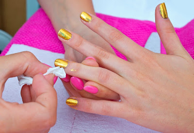 nail art techniques, different nail art
