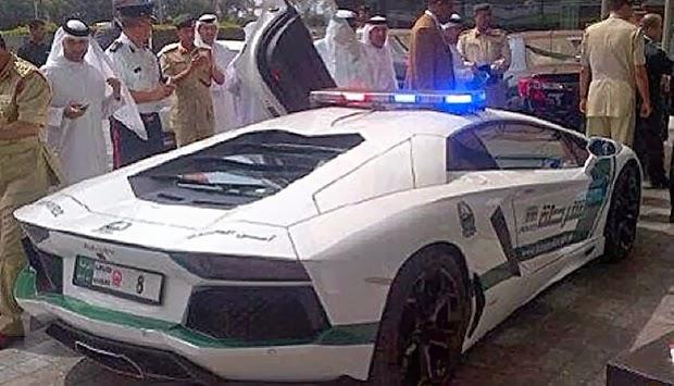 Mobil Tercangih Mobil Polisi Termahal Di Dunia Di Dubai Lamborghini Aventador Dijadikan Mobil Polisi