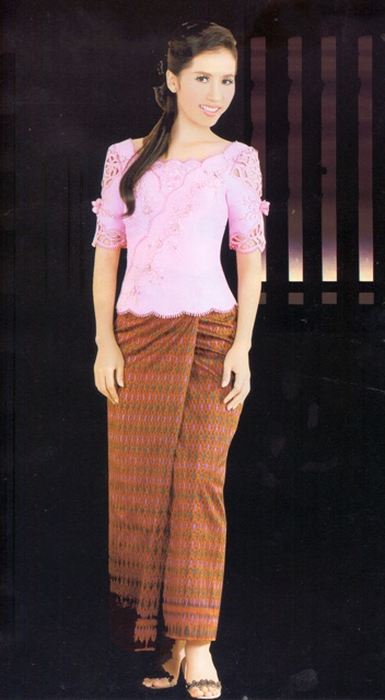 Cambodian Dresses Khmer Tv Personality Clothes