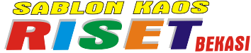 SABLON KAOS RISET BEKASI |  0895-4061-75151