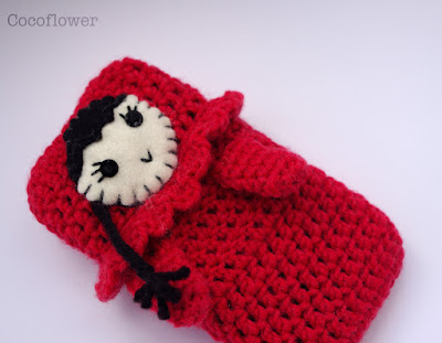 chaperon rouge étui de téléphone - doll cell phone case by CocoFlower
