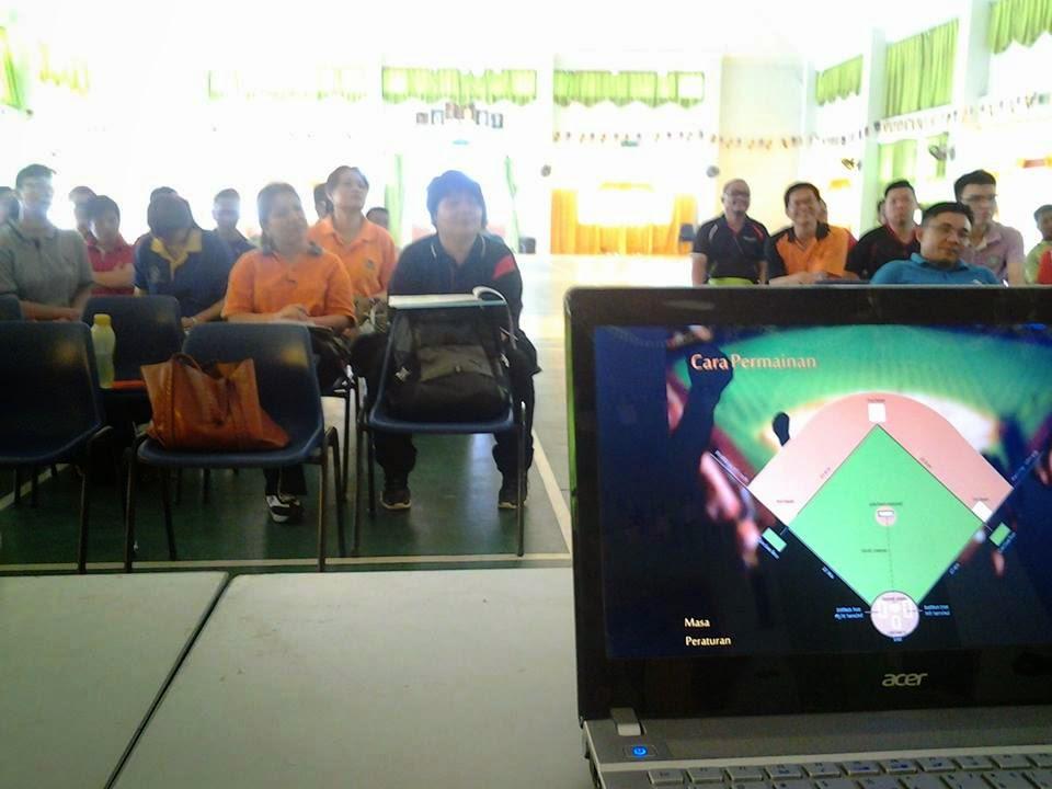 Kursus Modul Sofbol 1M1S Peringkat Sibu 2014