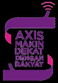 AXIS Makin Dekat Dengan Rakyat