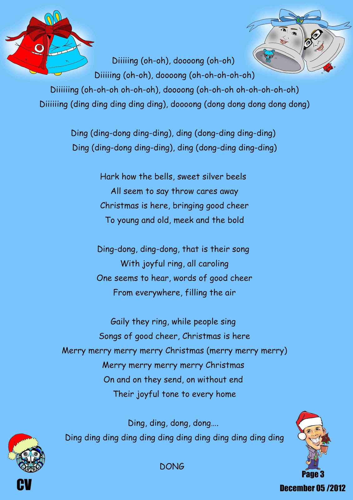 Canadian Voice English School Nagano: Other Christmas Songs ...