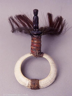 Tankil boar tusks armband from Philippines
