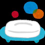 お風呂のイラスト「石鹸・石鹸置き」