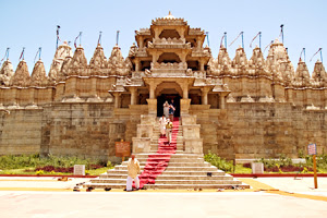 Beautiful Temple in Mount Abu