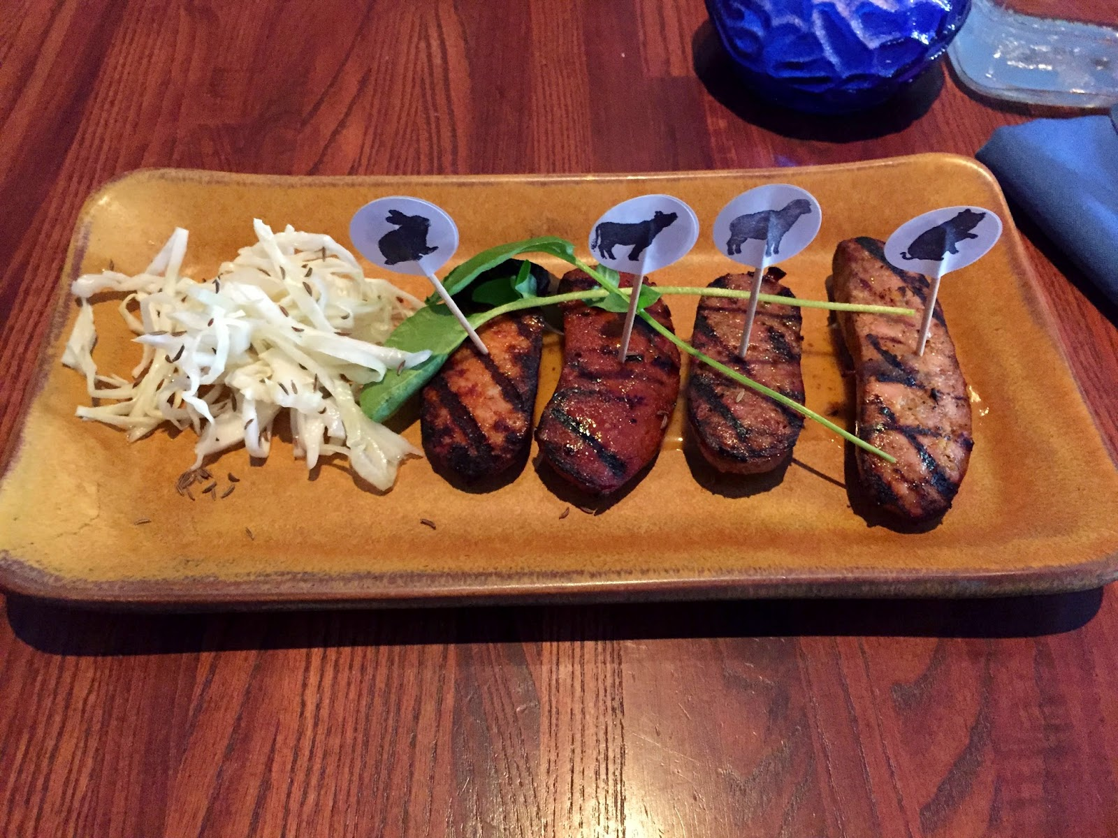 Smoked Sausage appetizer from Smoke - Dallas