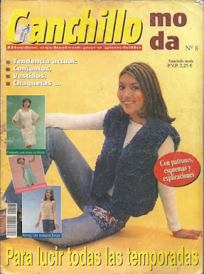 REVISTA DE GANCHILLO MODA NO 8 PARA DESCARGAR GRATIS