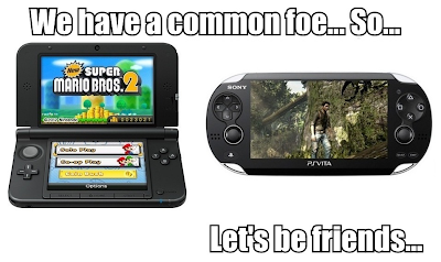 3DS and PS Vita Friends