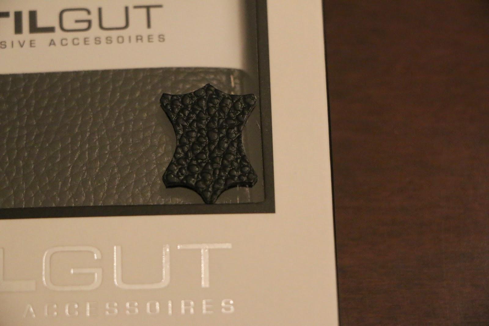 StilGut custodia Galaxy S6 modello Book Type nera confezione