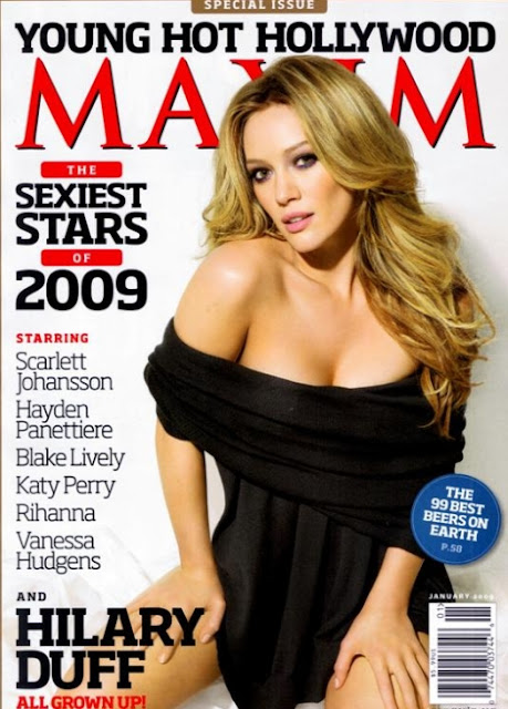 Hilary Duff on Maxim