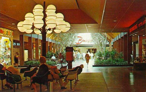classic nj willowbrook mall in wayne early 70s