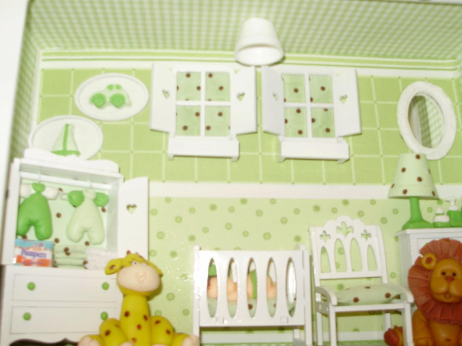 Coisas de Lu Ateliê Decoração para quarto de Bebê Safari
