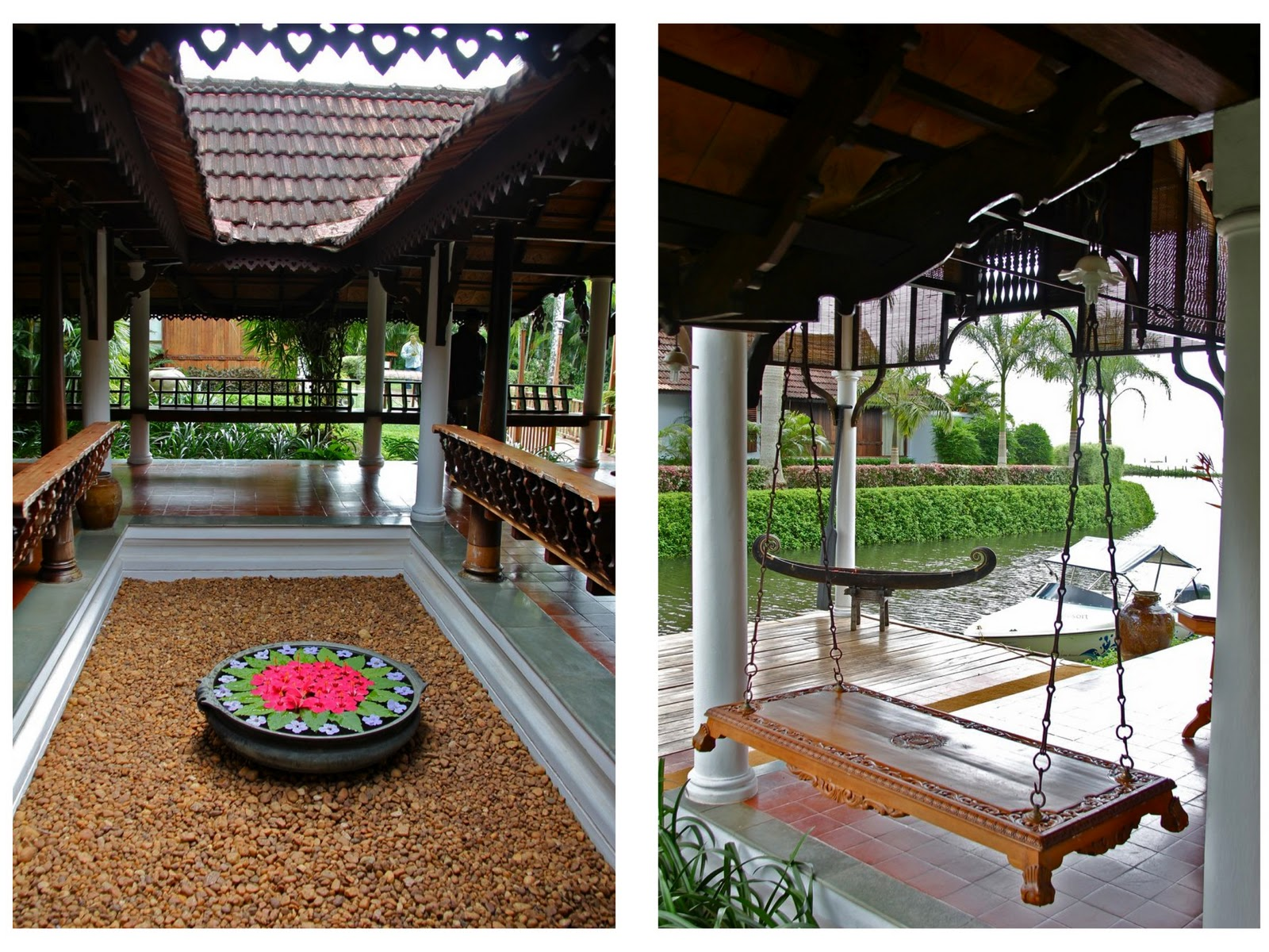 Home is where the art is my kerala courtship for Home garden design kerala