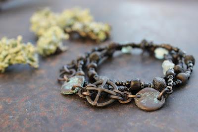 Solar cross wrap bracelet