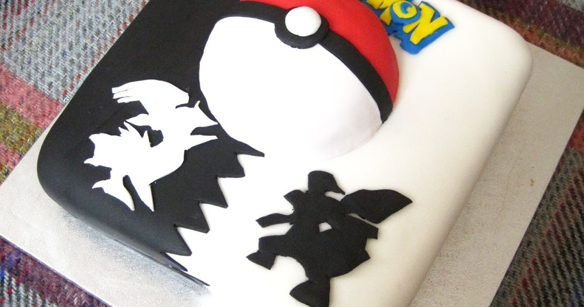 Bex In Sugarland Pokemon Cake