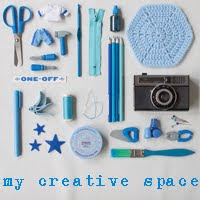 my creative space . . .