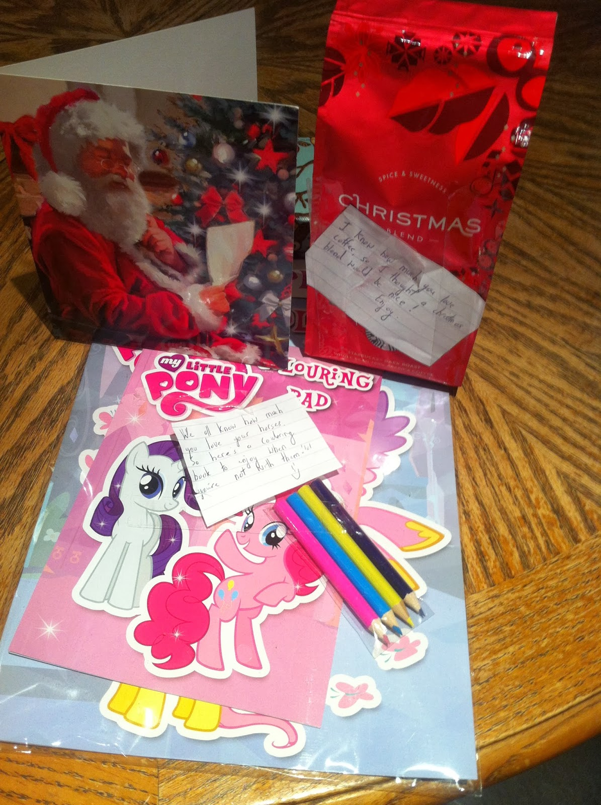 secret santa little pony