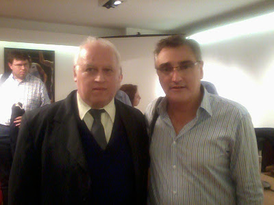 Con Julio Lamas