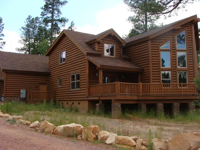 Log Home Foundation Design