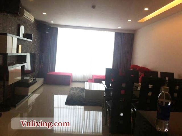 For lease furnished apartment located in Quoc Huong Street