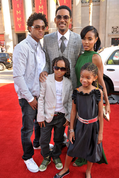 will smith family 2011. Will Smith And Family Cool