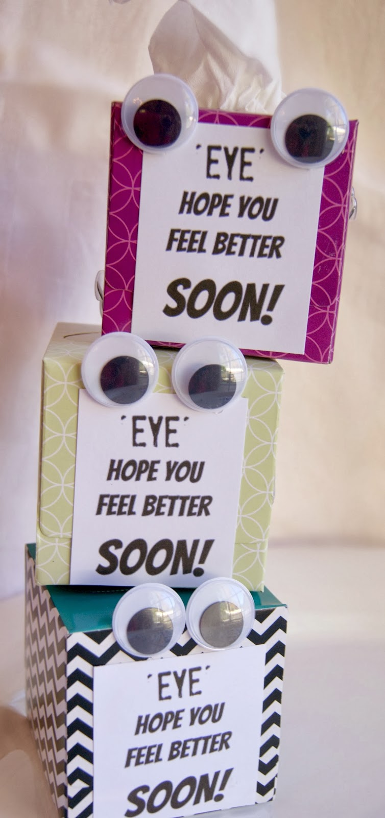 Michelle paige s get well soon tissue box gift