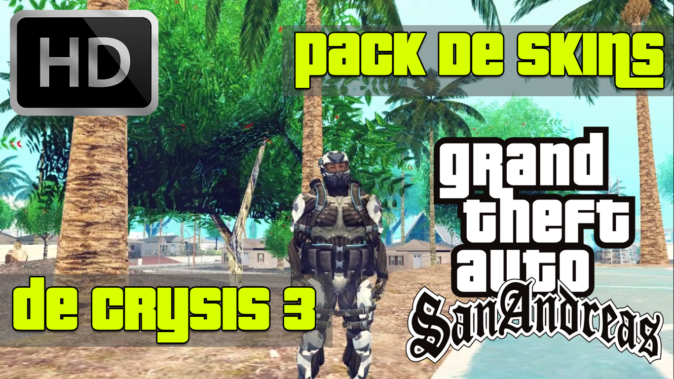 Pack De Skins De Crysis 3 | BrosMods