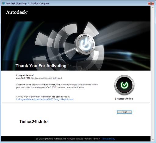 AutoCAD 2012 Setup Step 11