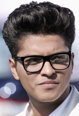 BRUNO MARS COOL HAIRSTYLE