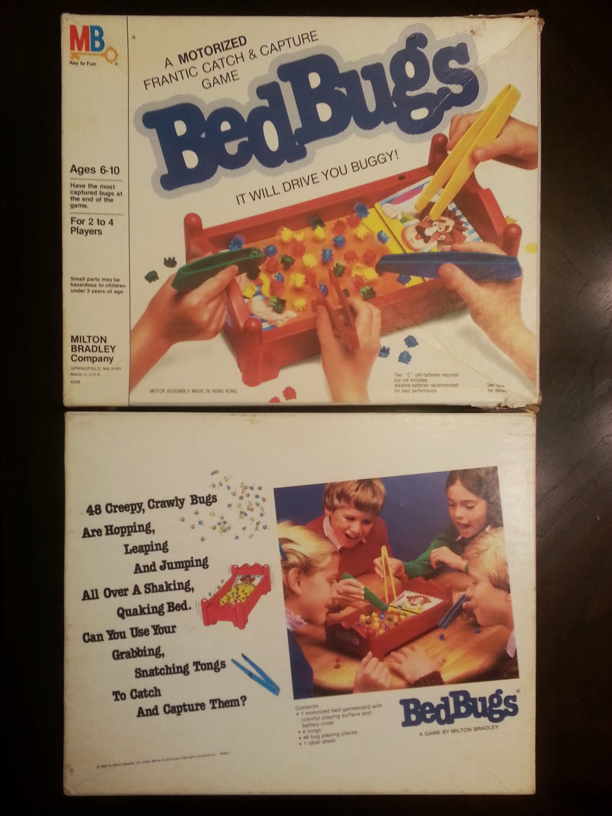 Bedbugs A Board Game A Day