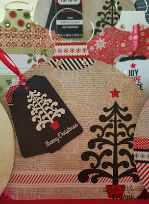 SVG Attic Holiday Cheer Gift Boxes -  Ornament