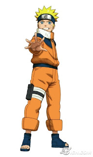 Naruto hand out