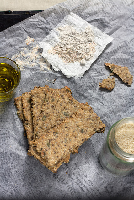 Posni krekeri sa semenkama