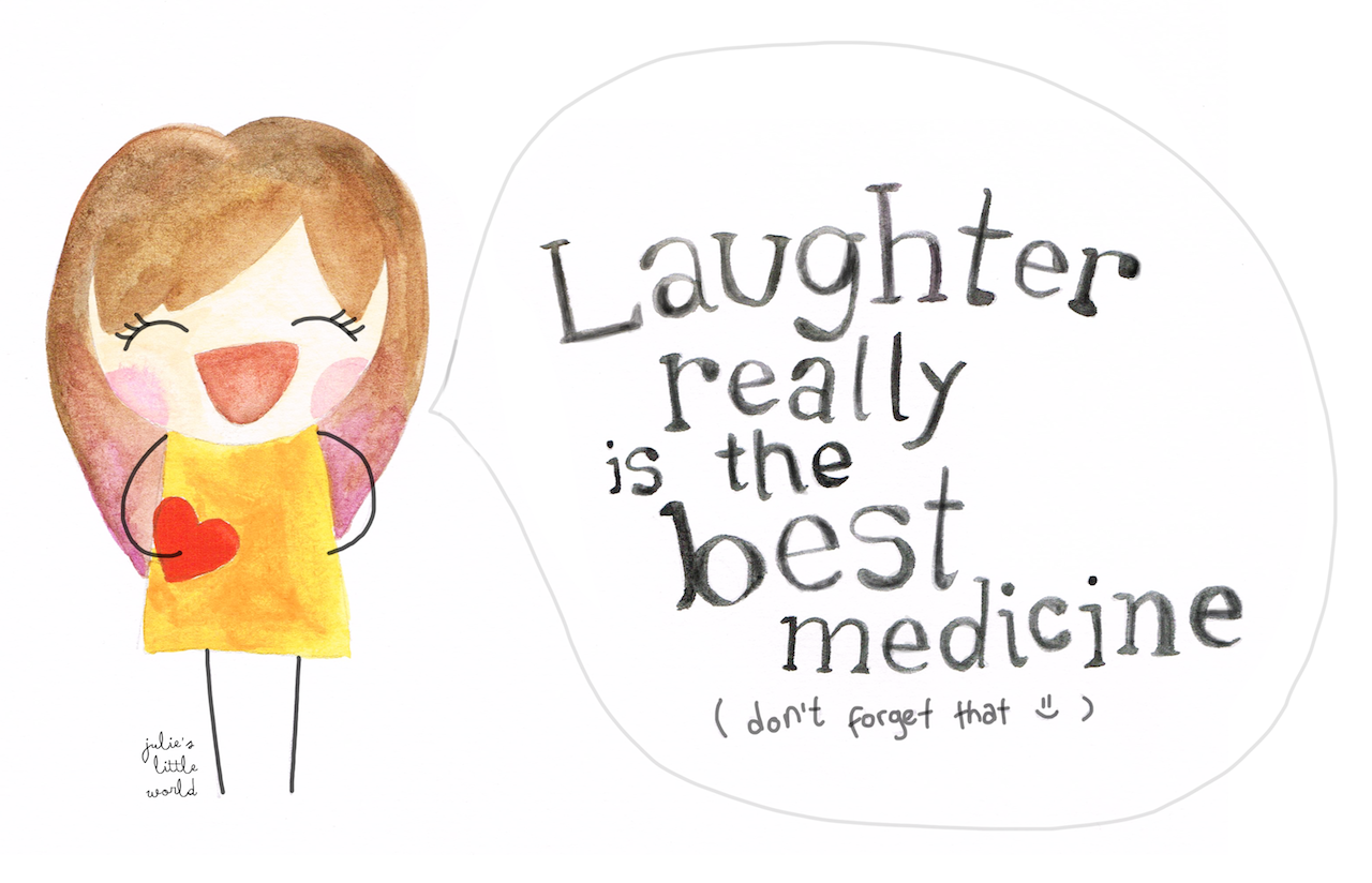 laughter a medicine stefanie n r Laughter is powerful stress-relief medicine discover how to fire up your sense of  humor.