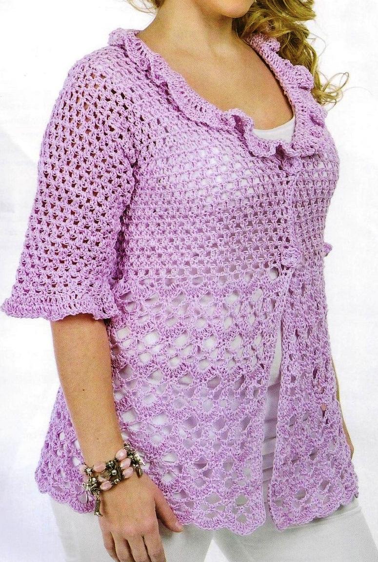 De L H O Aguja De Crochet N 4 Puntos Empleados Medio Punto Punto